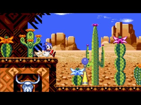 What if Sonic CD's Desert Dazzle was Mirage Saloon from Sonic Mania?