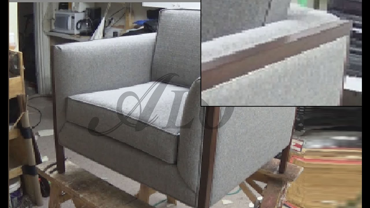 Merveilleux DIY: HOW TO UPHOLSTER A CHAIR   ALO Upholstery   YouTube
