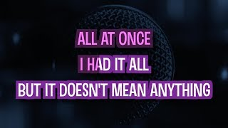 Doesn't Mean Anything - Alicia Keys | Karaoke Version