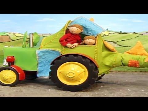 Kleiner Roter Traktor | Im Auge des Drachen | Ganze Folgen | Karikatur für Kinder