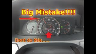 What Really Happens If You Put Your Car In Reverse While Driving Honda Accord Sport Special Edition