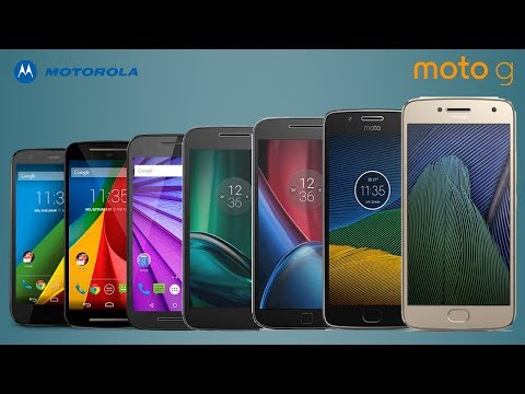 Every Moto G Series Official Commercials 2013-2018