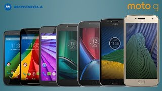 Moto G - Every Moto G Series Official Commercials 2013-2018