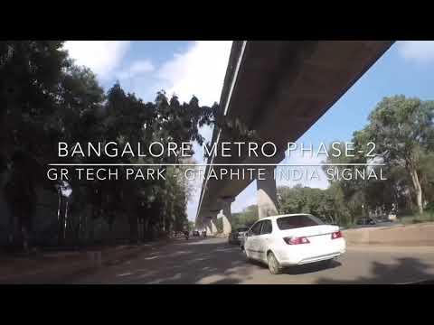 Bangalore Metro Phase-2 Whitefield Progress