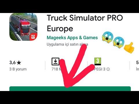 Truck Simülatör Pro Avrupa APK Nasıl Indirilir Vede Nasıl Kurulur Herşey Dahil Videoda😱😱👍