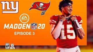 Madden NFL 20 Episode 3: New York Giants vs Tampa Bay Buccaneers