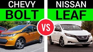 Chevy Bolt vs. The New Nissan Leaf