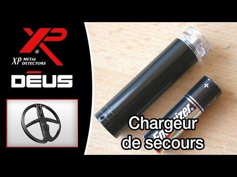 Chargeur de secours XP DEUS