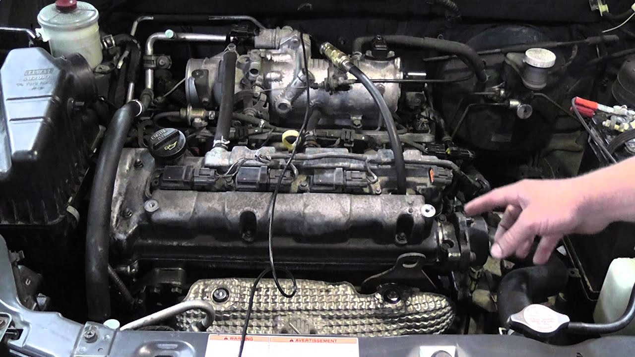 How To Check For A Jumped Timing Chain Or Belt Youtube Bmw Inside