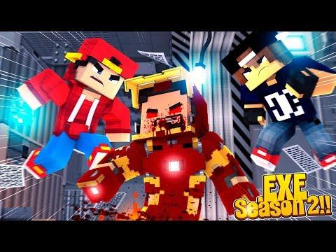 Minecraft .EXE 2.0 - ROPO & JACK CURE IRON-MAN .EXE!!!
