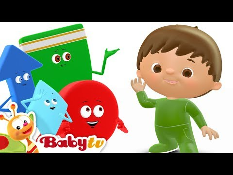 Shapes Song - Charlie And The Shapes | BabyTV