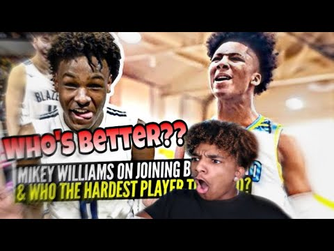 BRONNY JAMES & MIKEY WILLIAMS BALLISLIFE MIXTAPE REACTION!!!