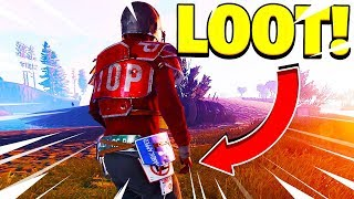 LOOT! - Rust Funny Moments Ft. Soup