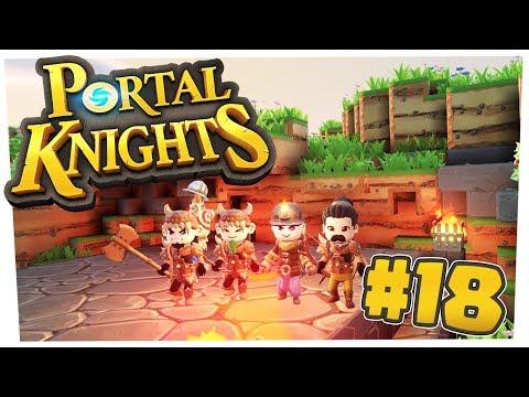 Portal Knights : IL MONDO DI NEVE E GiGi HA UN GUFO