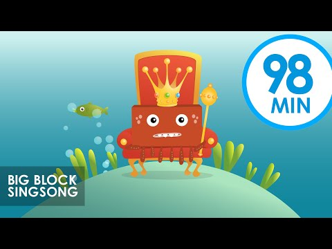 Big Block Singsong | Vol. 1 & Vol. 2 | Kids Cartoon Songs