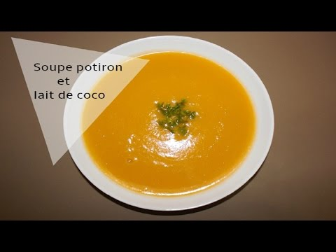 soupe-au-potiron-et-lait-de-coco