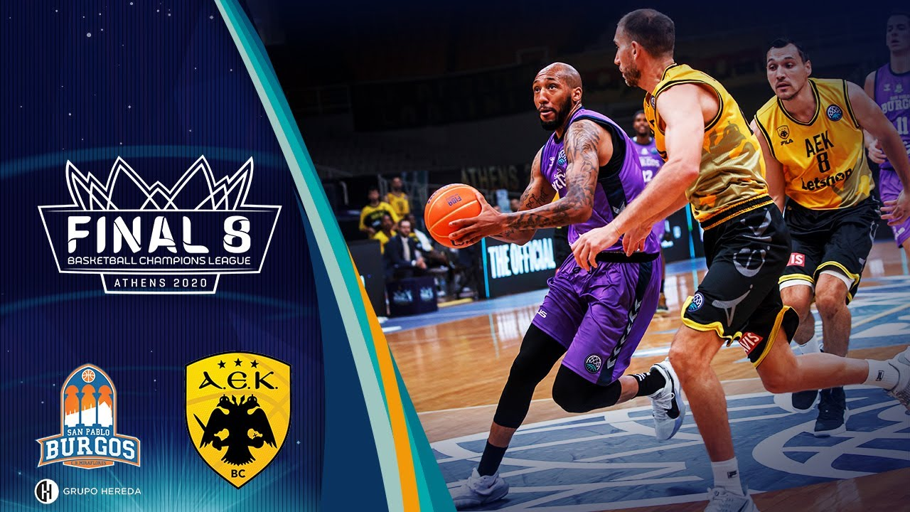 Hereda San Pablo Burgos v AEK - Highlights - Final - Basketball Champions League 2019