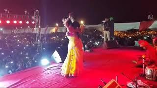 Khesari Lal Kajal raghwani stage show