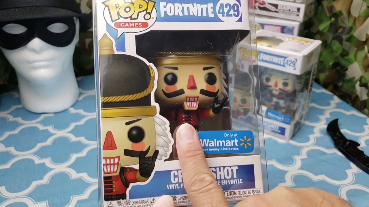 130278366e5 Fortnite Crackshot Walmart Exclusive Funko Pop Hunt! - YouTube