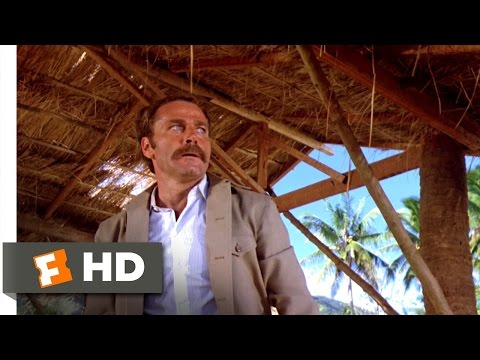 Enter the Ninja (1981) - Cole Protects Mary Ann Scene (5/13) | Movieclips