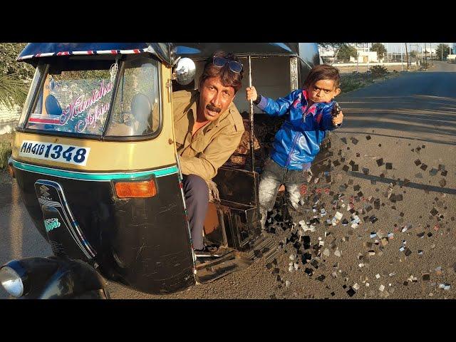 RIKSHA WALA   Khandesh Comedy Hindi   Shafik Chotu