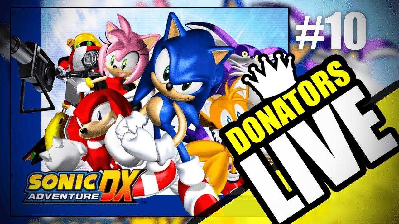 2019-04-29 SONIC ADVENTURE #10 Super Sonic & Extra Missions | ENG/ITA |  SpaghettiFrag Donators Live
