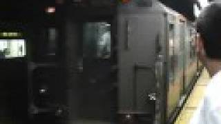 "NYC Subway ""Train of Many Colors"" at Grand Central Part 1"
