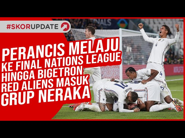 Final Nations League 2021, Prancis Vs Spanyol