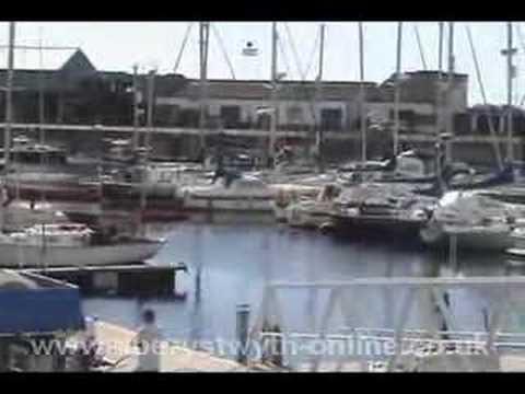 Aberystwyth's £9 Million Marina Named Y Lanfa Ceredigion UK