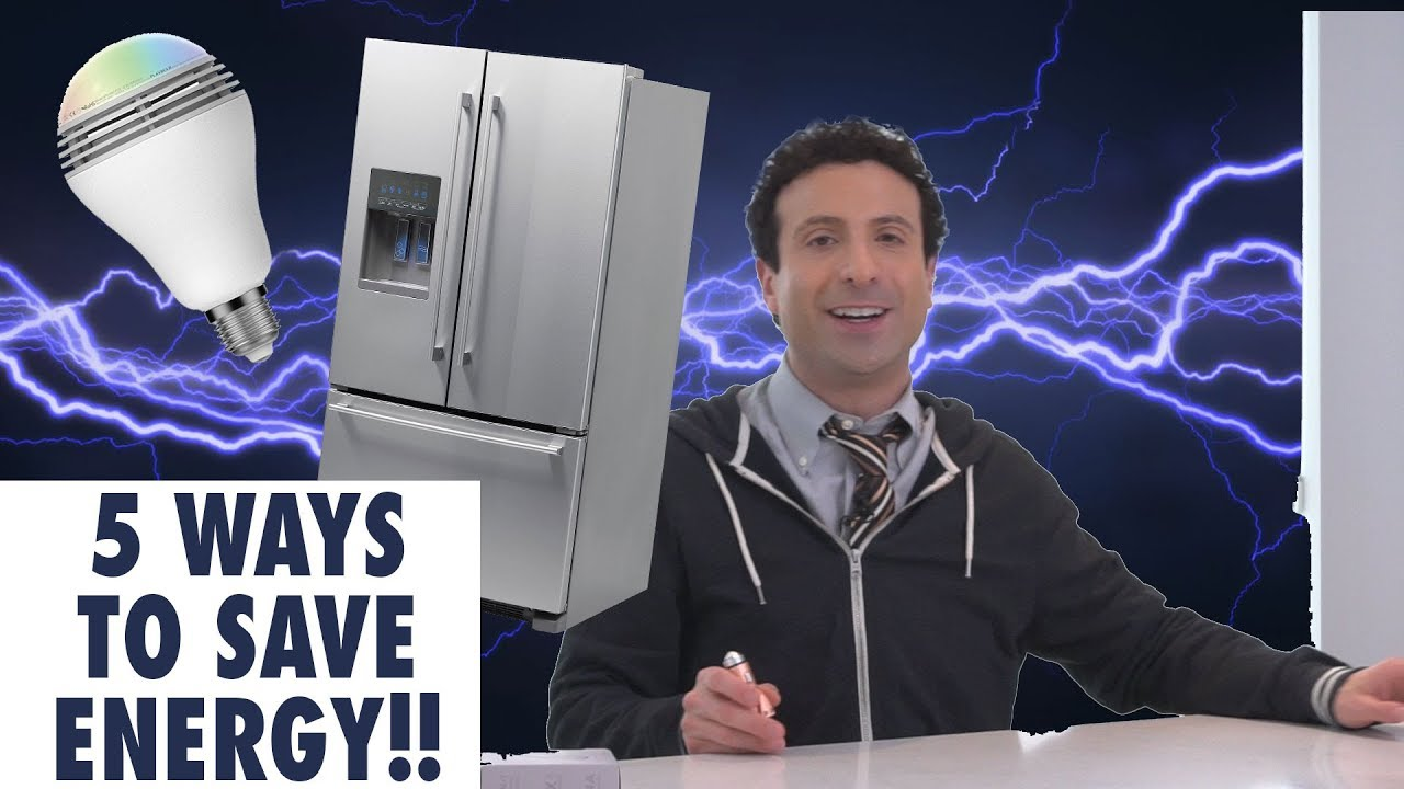 5 ways to lower your home energy bill youtube. Black Bedroom Furniture Sets. Home Design Ideas