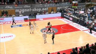 Würzburg vs. Vechta | Robin Christen #33 - 27.04.2019 - BBL Germany