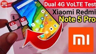 Xiaomi Redmi Note 5 Pro : Dual Sim 4G VoLTE Test (with Jio 4G VoLTE)