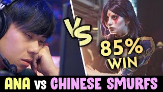 Ana vs Chinese SMURFS party — 85% WINRATE ABUSERS YouTube Videos