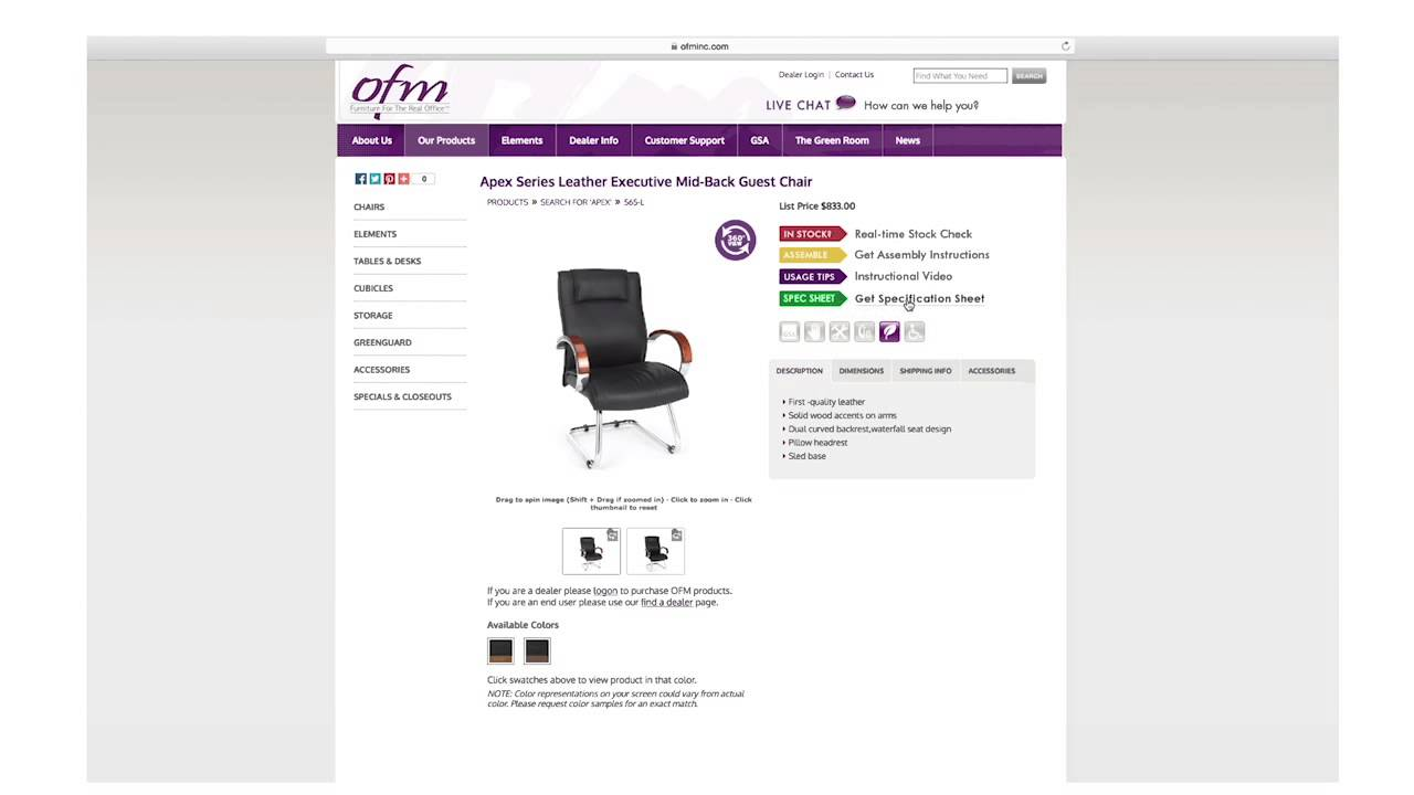 OFM Presents: How to find product on our website