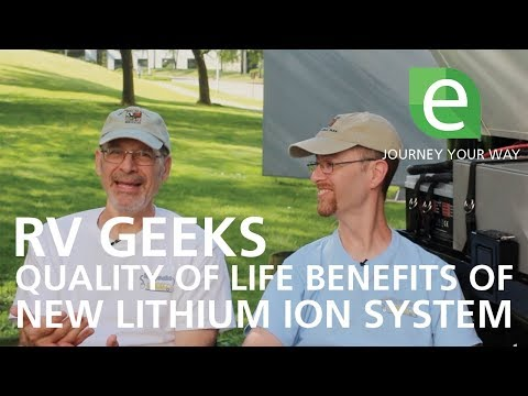 RV Geeks – Quality of Life Benefits of Lithium Ion Battery