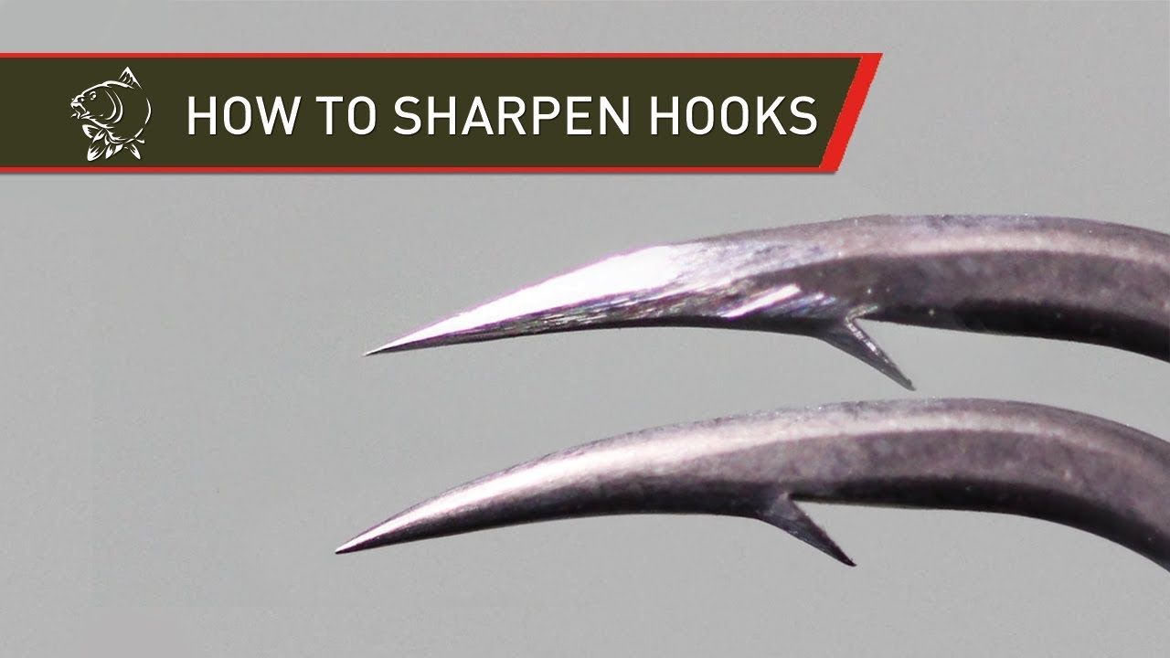 how to sharpen hooks for carp fishing marc voosen youtube