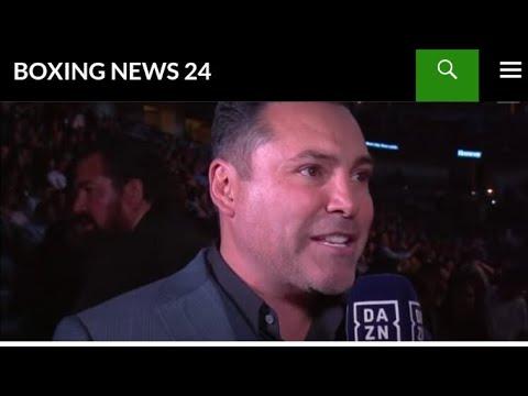 Oscar De La Hoya To Fight In Exhibition
