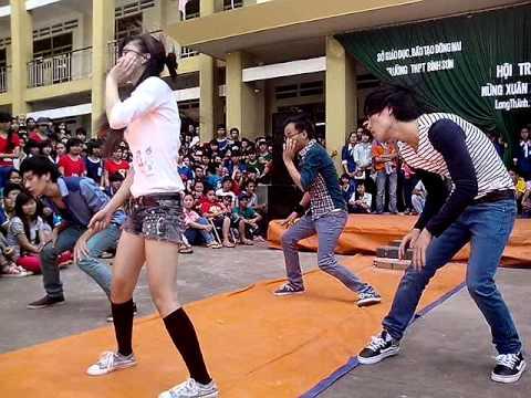 Nhảy hiện đại cựu học sinh Bình Sơn