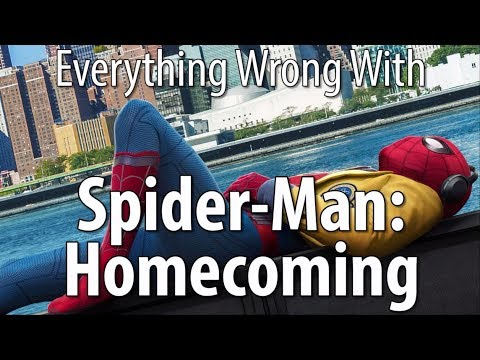 Everything Wrong With Spider-Man:...