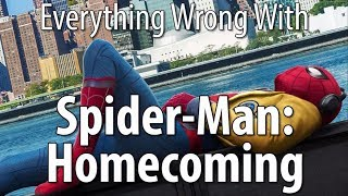 connectYoutube - Everything Wrong With Spider-Man: Homecoming
