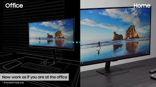 Smart Monitor: How to work from home without a PC | Samsung