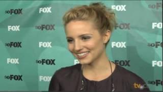 Dianna agron glee interview