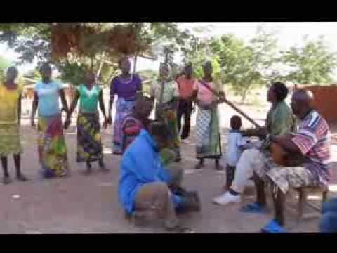 Africa - Tanzania traditional instruments - Zeze group mbira and choir