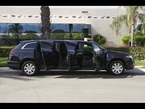 2013 Lincoln MKT 6 Door 44  Stretch Family Car Limousine Limo by Quality Coachworks QVM & 2013 Lincoln MKT 6 Door 44