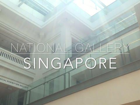 Singapore: National Gallery (first fun vlog)