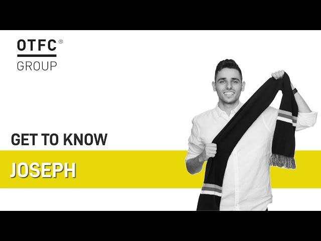 Get to know Joe