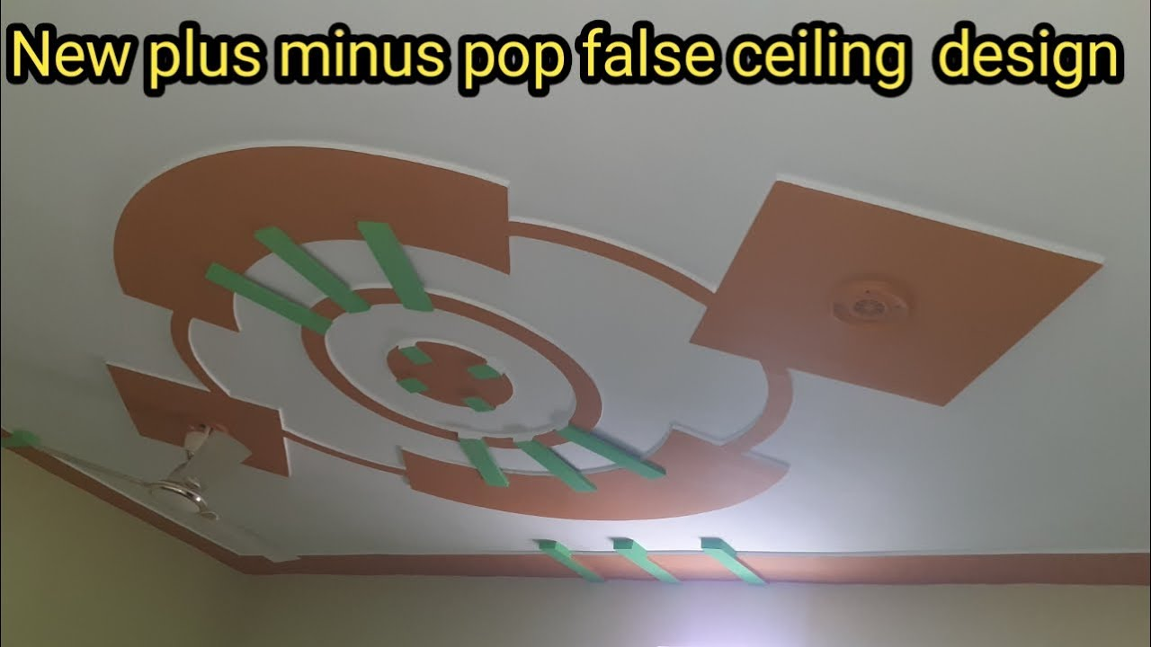 New Plus Minus Pop And False Ceiling Pop Design Youtube