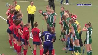 1. Feldhockey-Bundesliga Damen DHC vs. HTCU 22.04.2017 Highlights