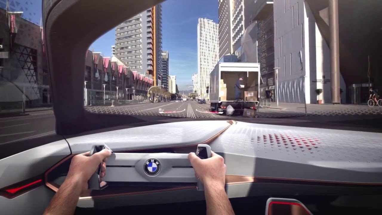 Bmw Imagine La Voiture Du Futur Youtube