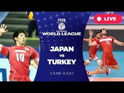 Japan v Turkey - Group 2: 2017 FIVB Volleyball World League